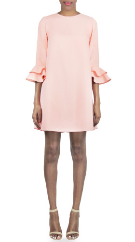 Nineteenth Amendment, , Darling Blush, Penelope Dress, DRESS