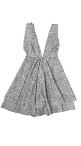 Nineteenth Amendment, , Fall- Winter 2016, Leah Grey Dress, DRESS