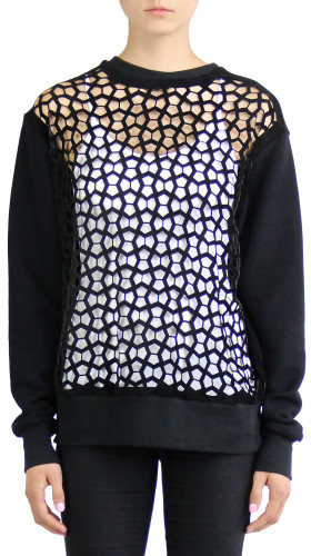 Laser Cut Sweatshirt, Heroine , Rein London
