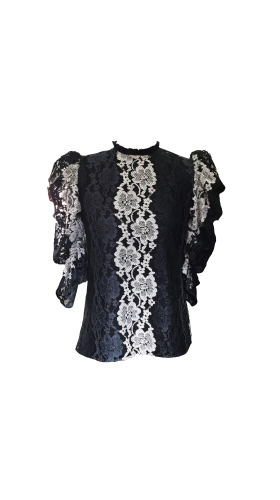 Nineteenth Amendment, , Romantique, Kate Lace Blouse, TOP