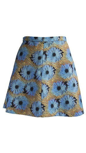 Nineteenth Amendment, Pariah5k, Mod Squad, Blue Daisy Skirt, SKIRT