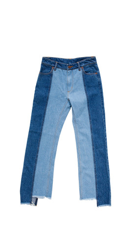 Nineteenth Amendment, , Disney Frozen X Alice Xuan, Two Sisters Two-Toned Jeans, PANTS