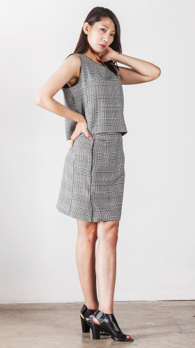 Nineteenth Amendment, , Second Skin Cubed Rtw, Off Pattern Top, TOP
