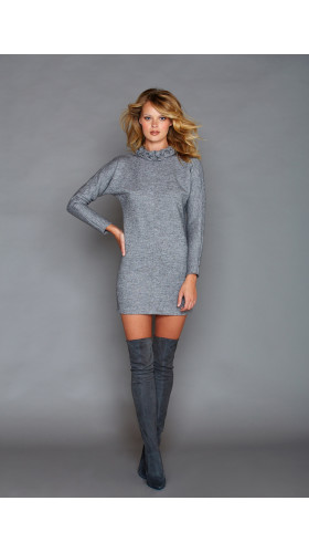 Nineteenth Amendment, , Fall- Winter 2016, Cara Grey Dress, DRESS