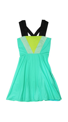 Nineteenth Amendment, Meghan Hughes, Spring/Summer 2015, Green Triangle Dress, DRESS
