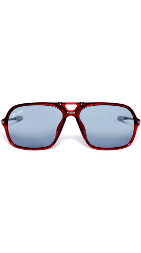 Nineteenth Amendment, RiseAD, RiseAD Game Changers, Game Changer Squared Sunglasses | Red Transparent, Accessories