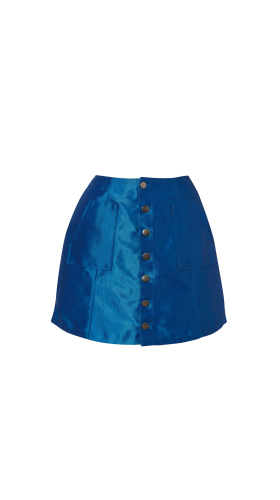 Nineteenth Amendment, , Wild Child, Denim Mini Skirt, SKIRT