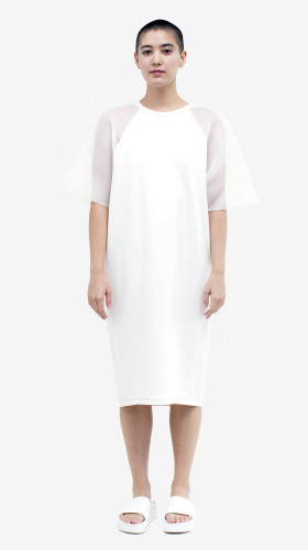 Walter Dress in White, Parallel of Latitude , Allergic