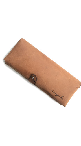 Nineteenth Amendment, , Ángulo, [ milano ] Leather Wallet [ Brown ], Accessories