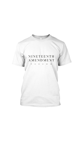 Nineteenth Amendment, , Boss Babe, 19th Amendment Person T-Shirt, SHIRT