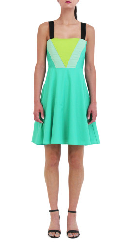 Green Triangle Dress, Spring/Summer 2015 , Meghan Hughes