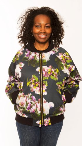 Nineteenth Amendment, , Flowerpower 2017, Bouquet Bomber, OUTERWEAR