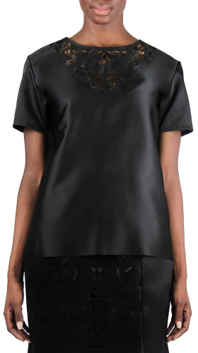 Nineteenth Amendment, Rein London, Luminary, Satin Top, SHIRT