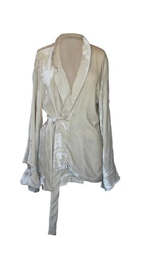 Nineteenth Amendment, , For You, Frida Silk-Velvet Jacket, OUTERWEAR