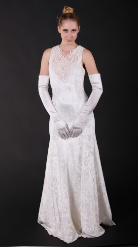 Titania Long Dress, Summer Moonlight , SFCouture by Isabel Fajardo