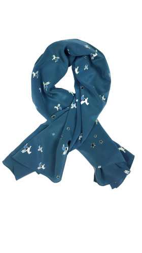 Nineteenth Amendment, Aline Voldoire, Blue is the City, Pegasus Scarf, Accessories