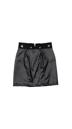 Nineteenth Amendment, Meghan Hughes, Starstruck, Star Leather Mini Skirt, SKIRT