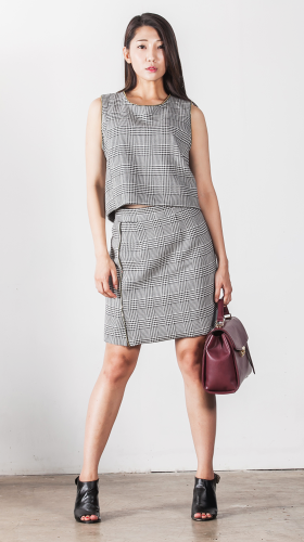 Nineteenth Amendment, Chanho Jang, Second Skin Cubed RTW, Off Pattern Skirt, SKIRT