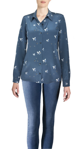 Nineteenth Amendment, , Blue Is The City, Pegasus Blouse, SHIRT