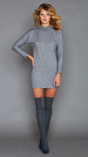 Nineteenth Amendment, Graciela Rivas, FALL- WINTER 2016, Cara Grey Dress, DRESS