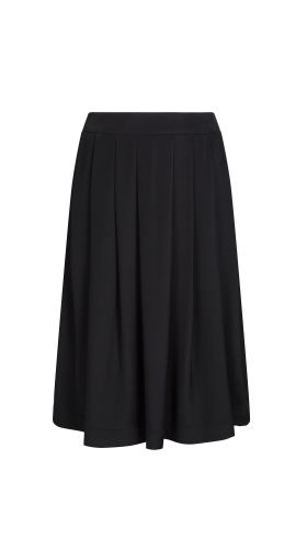 Nineteenth Amendment, Aline Voldoire, Overture, Lauren Pleated Silk Skirt, SKIRT