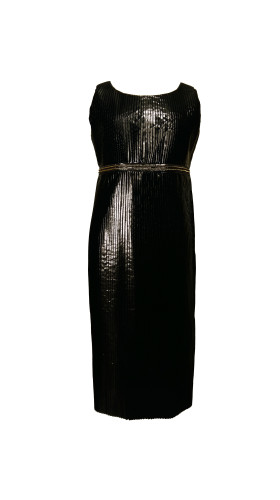 Nineteenth Amendment, Chanho Jang, Modern baroque RTW Part 2, Black Column Dress, DRESS