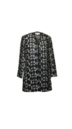 Nineteenth Amendment, , Starry Nights Coat, Starry Nights Black, OUTERWEAR