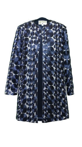 Nineteenth Amendment, , Starry Nights Coat, Starry Nights Blue, OUTERWEAR