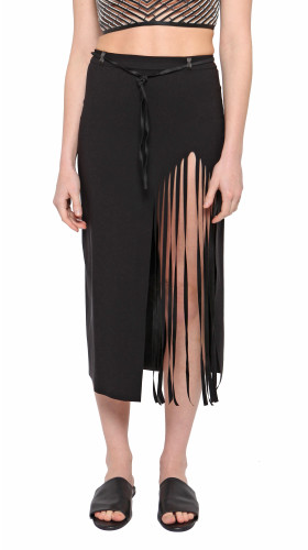 Nineteenth Amendment, , Rein 2.0, Fringe Skirt, SKIRT