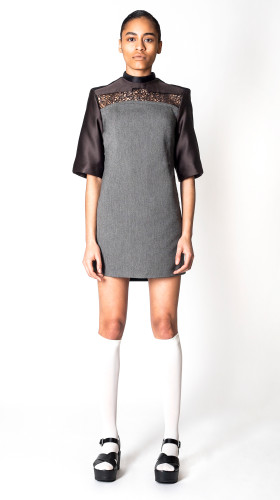 Coveal Mini Dress, Contemporary Matter SS/17 , Bohn Jsell Collections