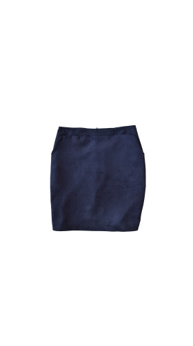 Nineteenth Amendment, , Varyform Capsule, Suede Shift Skirt, SKIRT