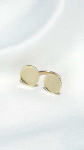 Nineteenth Amendment, , Curva Collection, Circular Ring, Jewelry