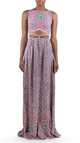 Diamond Waist Maxi Dress, Bollywood Babydoll , Ollari