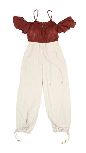 Nineteenth Amendment, Bohn Jsell Collections, Solstice Delivery One, Safari Pant Jumper, JUMPSUIT