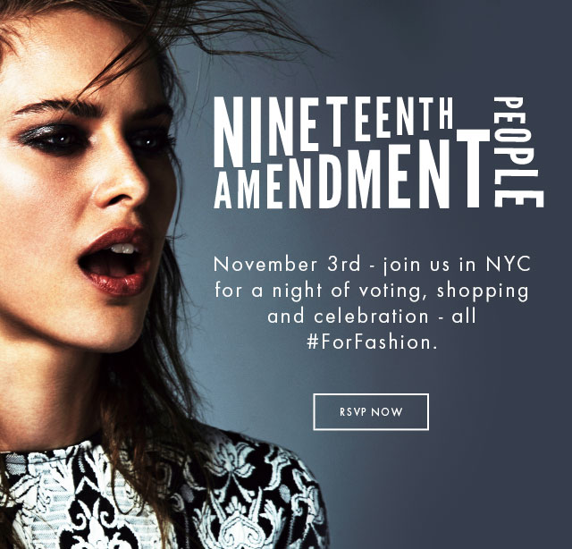 Nineteenth Amendment, Home Banner