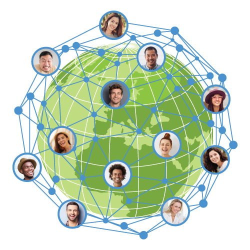 Work in syncwith teams across the globe