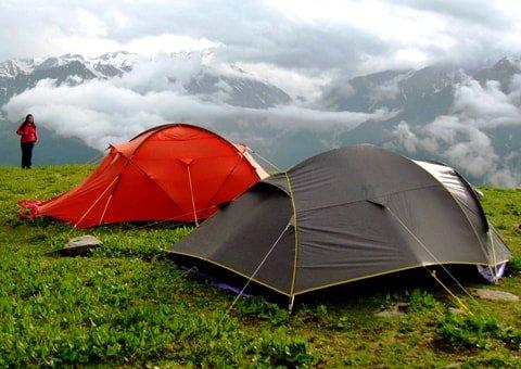 Manali-Camping