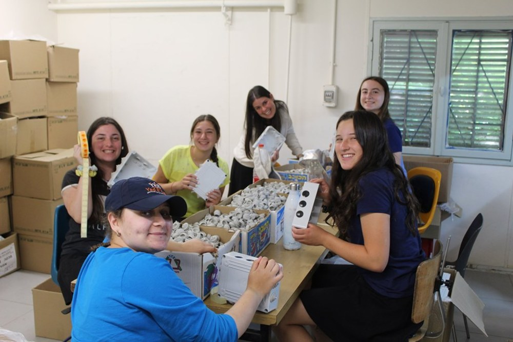 Day Twenty Eight: Thursday, August 8th: Volunteering in Factory, Weizmann Institute of Science, and Special Dinner in Gush Etzion!