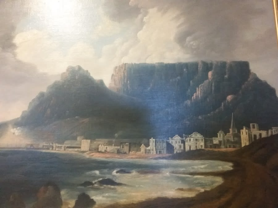 Castle Of Good Hope landscape