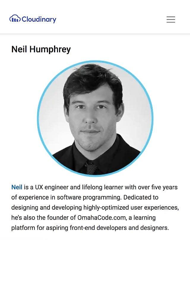 Neil Humphrey - UX Designer