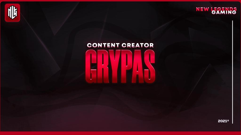 grypas nlg esports content creator