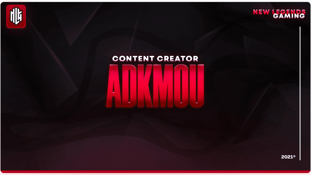 adkmou nlg esports content creator