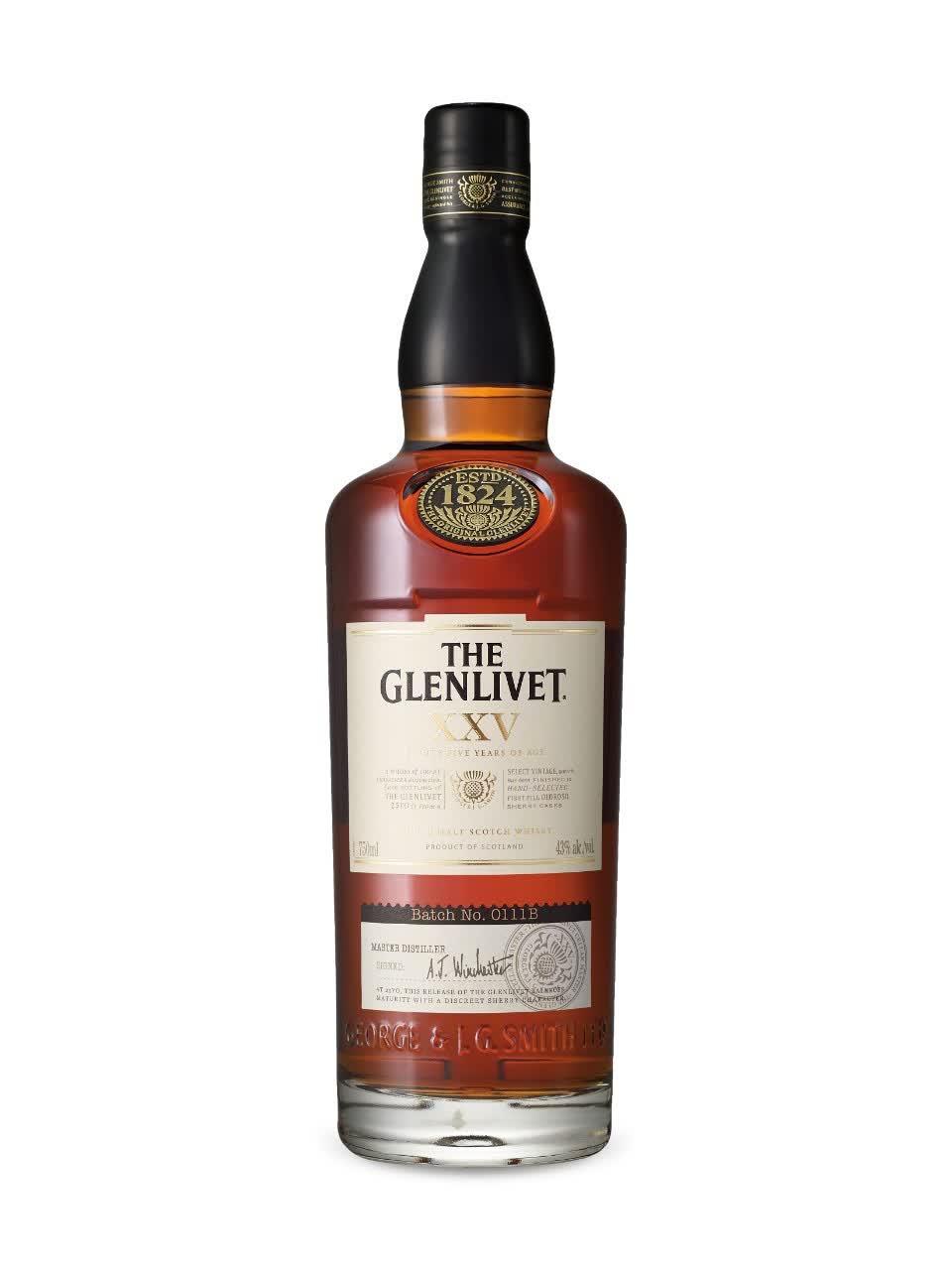 Glenlivet 25 Years