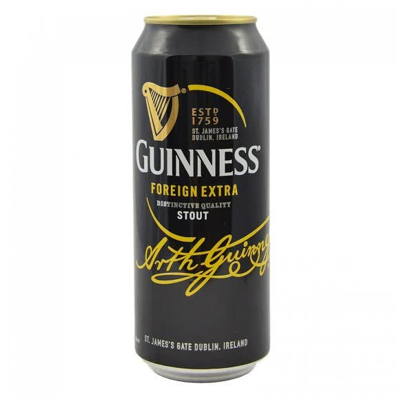 Guiness can