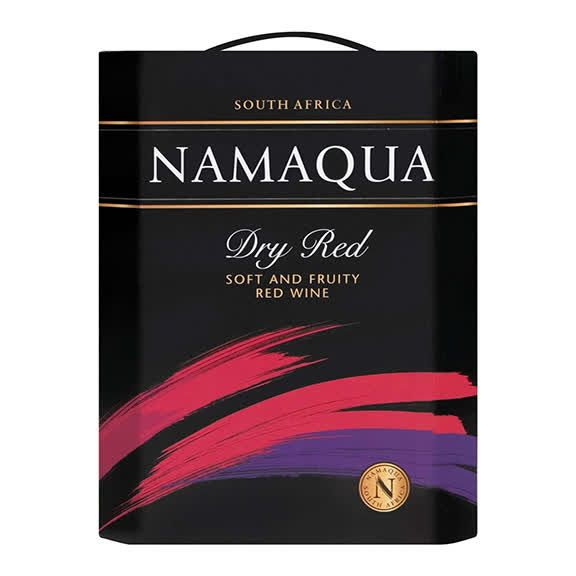 Namaqua Red dry