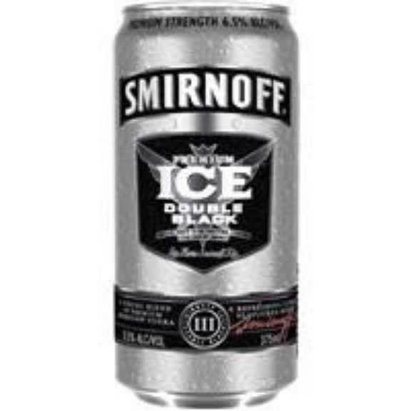 Smirnoff Black ice
