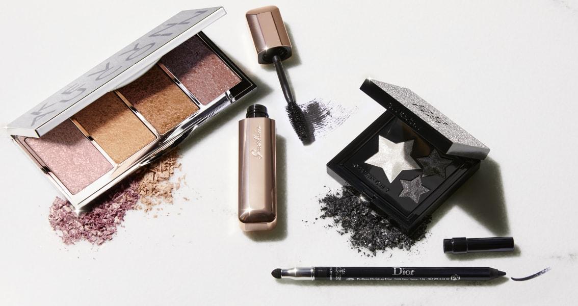 Holiday Highlighter Palette|Mad Eyes in 01 Mad Black|Waterproof Crayon Eyeliner in 94 Trinidad Black|Holiday Eyeshadow Palette