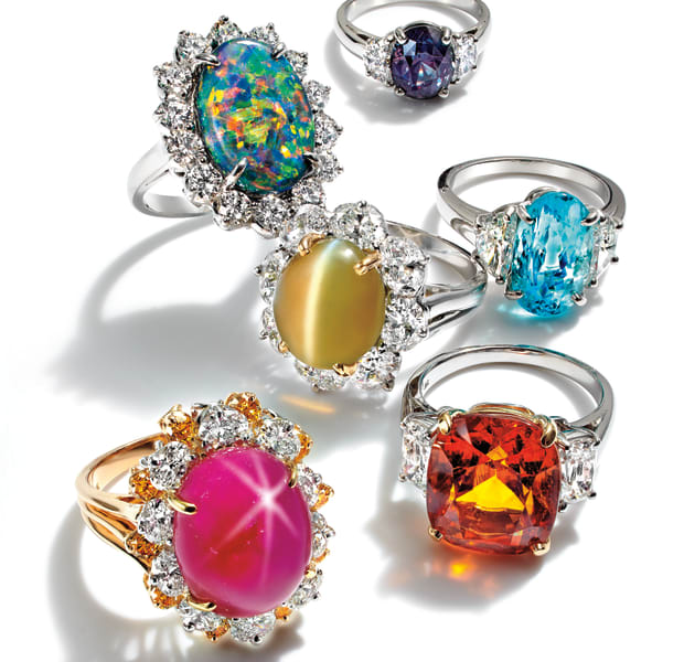 Exotic Gems from the Collection