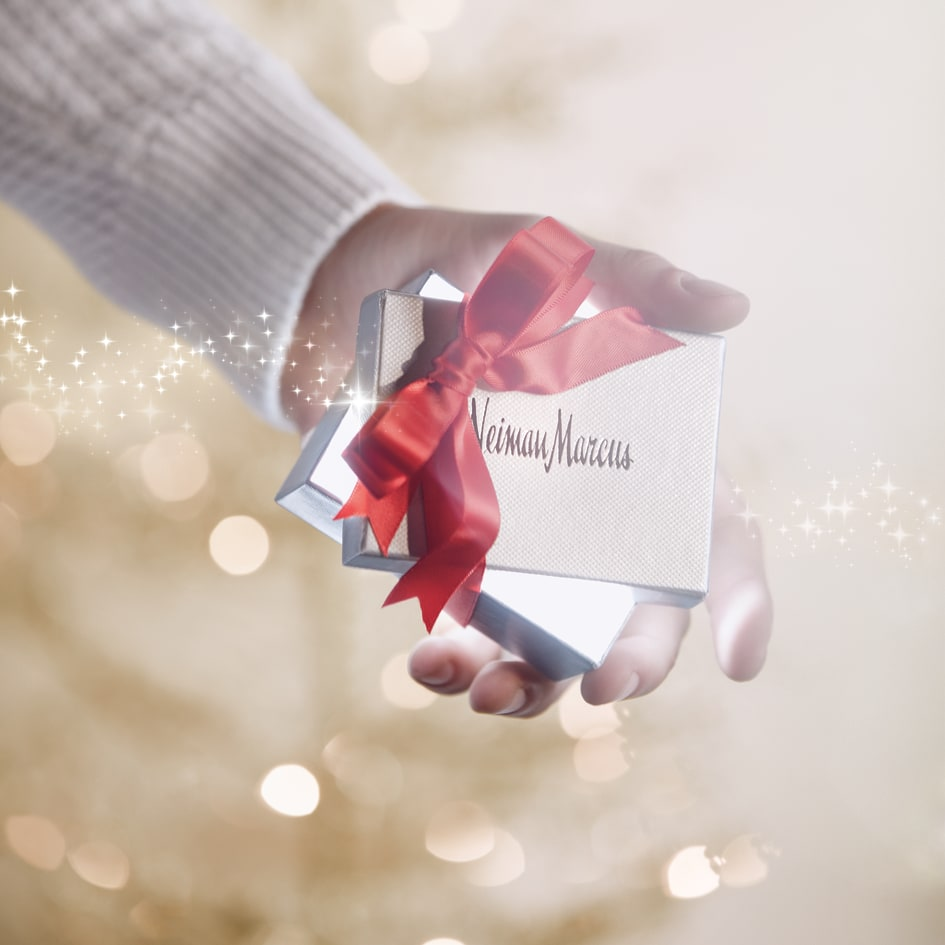 Gift box sparkle