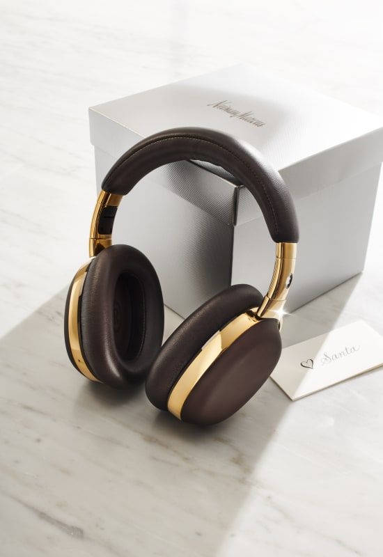MB 01 HEADPHONES in BROWN and GOLD